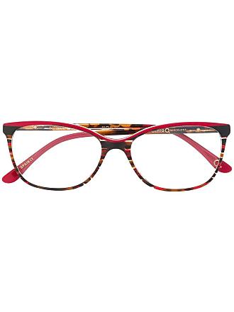 Etnia Barcelona Armação de óculos Dauphine quadrada - Marrom