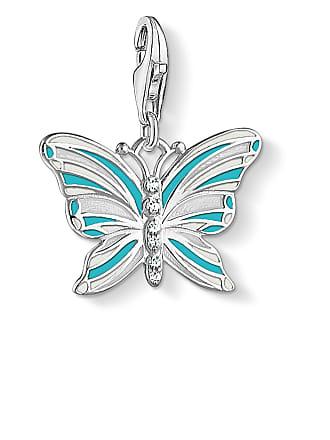 Thomas Sabo Thomas Sabo Charm pendant butterfly turquoise 1515-041-17