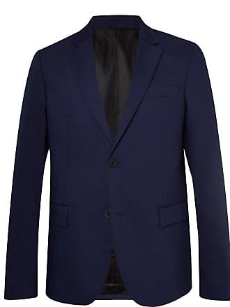 Joseph Navy Davide Slim-fit Wool-blend Suit Jacket - Navy