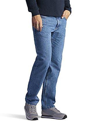 Lee Mens Regular Fit Straight Leg Jean, Vintage, 38W x 36L