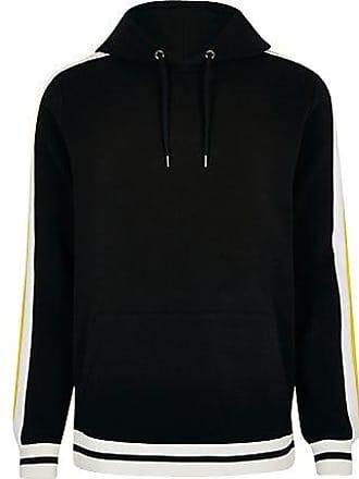 River Island Mens Black Prolific slim fit hoodie
