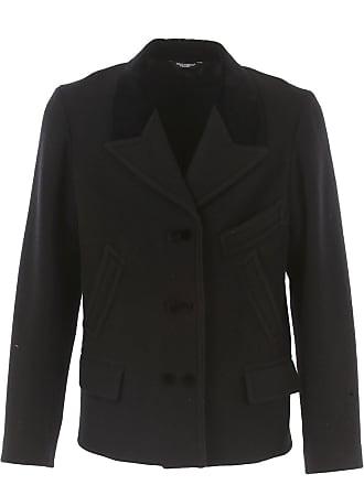 c5d0e5510345 Dolce   Gabbana Mantel für Herren, Trenchcoat Günstig im Outlet Sale,  Schwarz, Wolle