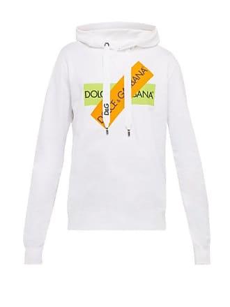 995a5e55719c1 Dolce & Gabbana Sweat-shirt en jersey de coton à capuche et logo