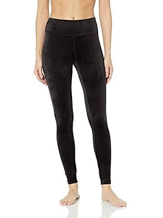020a7d03744d2e Danskin Womens Active Microvelour Mid Rise Ankle Legging, Rich black-00115,  Large