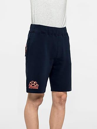 Sundek stretch waist walk shorts with embroidery logo