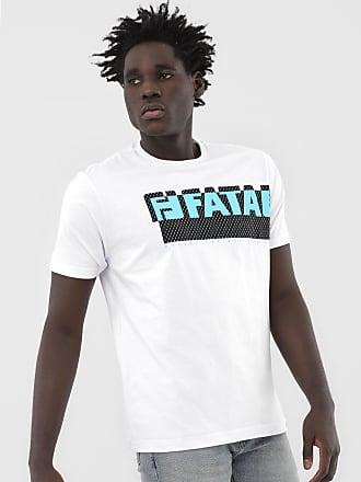Fatal Surf Camiseta Fatal Logo Branca