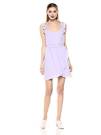 029b505915dc Ali & Jay Womens Got Potential Sleeveless Fit & Flare Short Mini Dress,  Lavender S