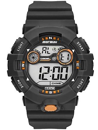 f73ab92819882 Mormaii Relógio Mormaii Digital Acqua MO3610AA8L Preto