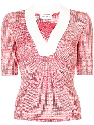 Yigal AzrouËl melange knit top - Red