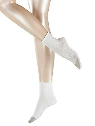 d989c481ddfe2 Esprit Nice Stripe Shortsocks 2P Chaussettes Femme NA Blanc (White 2000)  35/38