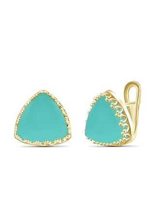 JewelersClub JewelersClub 27-1/2 Carat T.G.W. Chalcedony 14kt Gold over Silver Stud Earrings