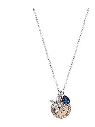 0d9efff39e8a Swarovski Zodiac Pendant Pisces Necklace (Teal) Necklace