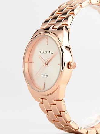 Bellfield Rose Gold Plated Watch - Gold