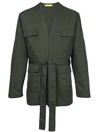 Ex Infinitas cargo pocket military jacket - Cinza