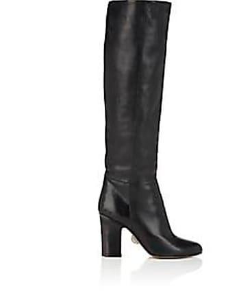 d1f15fb8c9e0 Samuele Failli Womens Stella Leather Knee Boots - Black Size 5.5