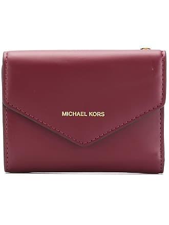 Michael Michael Kors Carteira envelope - Vermelho