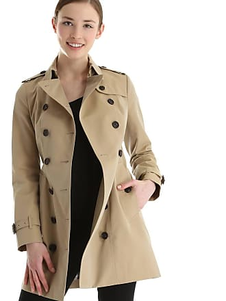 757fabd5708 Burberry Trench-coat femme mi-long Beige Burberry