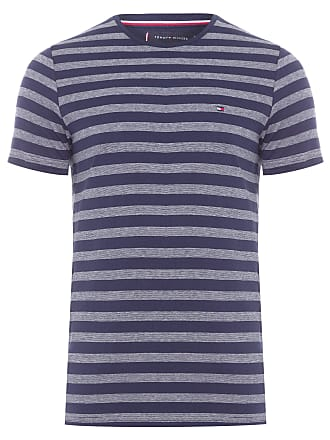 Tommy Hilfiger T- SHIRT MASCULINA ESSENTIAL HEATHER TEE - AZUL