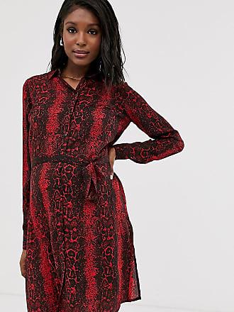 Mama Licious Mamalicious - Vestito camicia pitonato-Multicolore