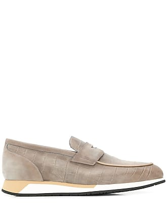 Santoni relaxed style loafers - Grey