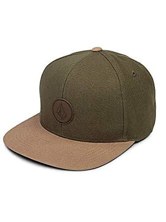 5a7a7be2bcbf7d Volcom Mens Quarter Fabric Hat, Army, One Size Fits All