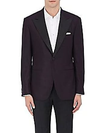 01a236ada1a35a Sartorio Mens PG Wool One-Button Tuxedo Jacket - Wine Size 38 R