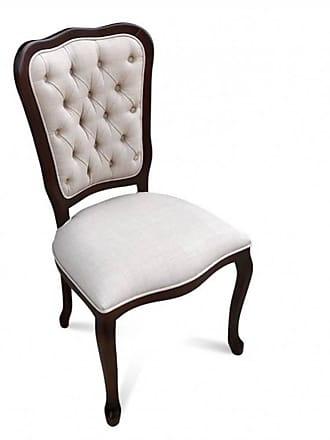 Atelier Clássico Cadeira Inglesa em Madeira Maciça com Pinturas e Tecidos Personalizáveis