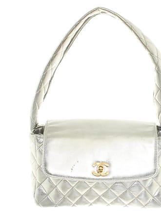 dda72b88eae8d Chanel gebraucht - Handtasche aus Leder in Silbern - Damen - Leder
