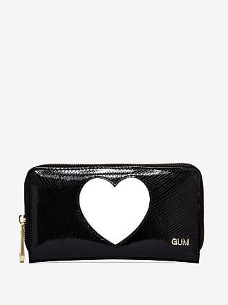 gum medium size glossy heart wallet