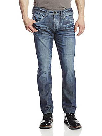 Buffalo David Bitton Mens Evan Slim-Fit Jean, Distressed Wash, 31