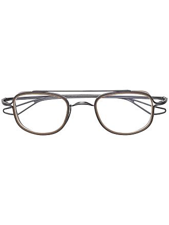 Dita Eyewear Armação de óculos Tassel - Metálico