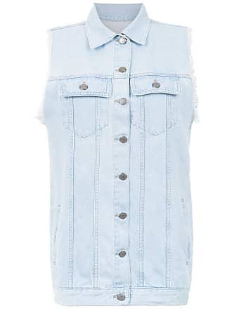 Pop Up Store Colete jeans com bolsos - Azul