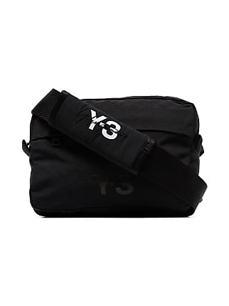 19e4691fbfd Yohji Yamamoto Multi pocket detachable shoulder bag - Black