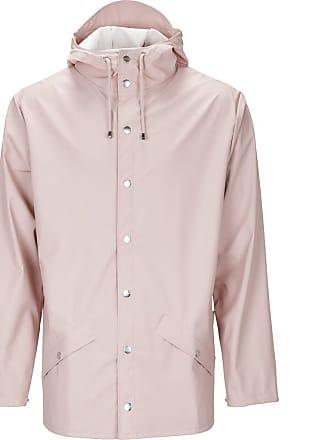 Rains Waterproof Jacket   Rose   L/XL