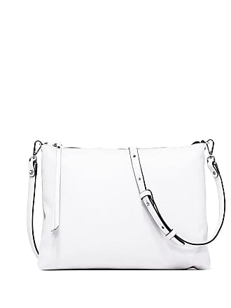 Gianni Chiarini ginger large white clutch bag