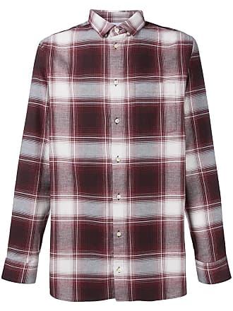 Natural Selection Camisa xadrez - Vermelho