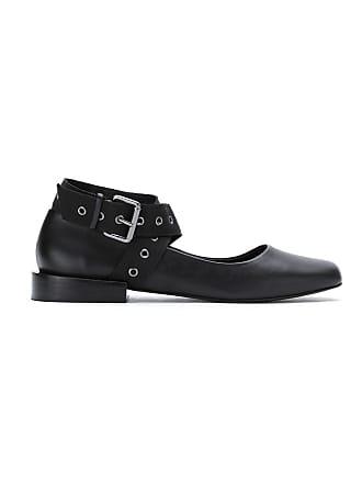 Uma leather Acaju ballerinas - Black