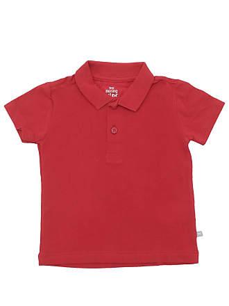Hering Kids Camisa Polo Hering Kids Menino Vermelho