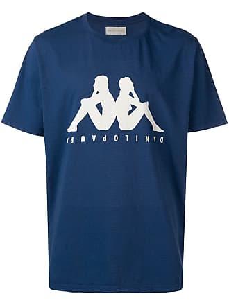 Paura Camiseta com estampa de logo Kappa - Azul