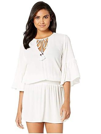 618263a891 Maaji Here We Go Go Dress Cover-Up (White) Womens Swimwear