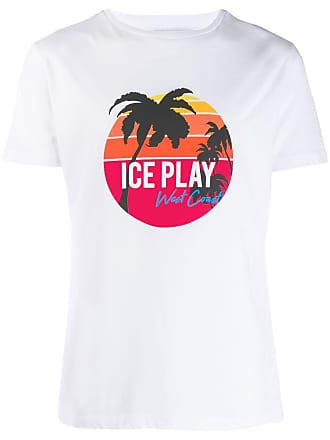 Iceberg Iceplay printed T-shirt - White