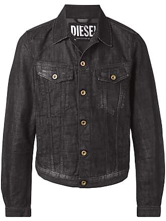 Diesel casual denim jacket - Black