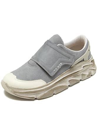 Moleca Tênis Moleca Dad Sneaker Chunky Faixas Velcro Azul