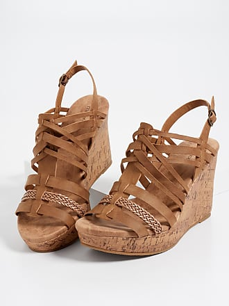 Maurices Eva Multi Strap Cork Wedge