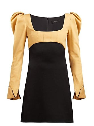 Ellery Heritage Puff Sleeve Dress - Womens - Black Multi