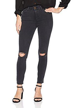 DL1961 Womens Farrow Instaslim Cropped High Rise Skinny Jean, Nimbus, 28