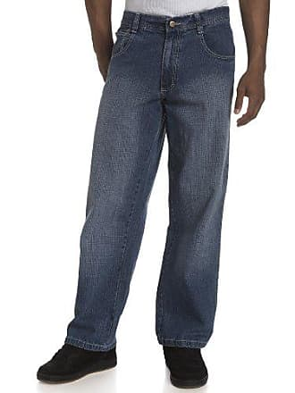 Southpole Mens Big & Tall Relaxed Fit Basic Sand Blasted Core Denim, Medium Sand Blue, 46