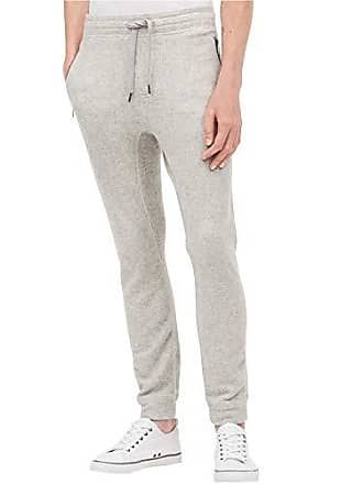 d63d88a81514cc Calvin Klein Jeans Mens Brushed Cozy Sweatpant, Silver Stone Heather,  2X-Large