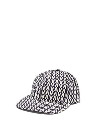 Valentino Optical Print Cotton Cap - Mens - Navy 7dfd3495739