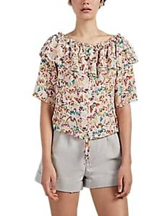 Zadig & Voltaire Womens Tease Butterfly-Print Silk Blouse Size S
